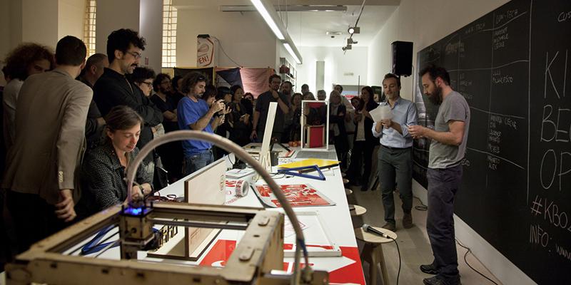Kitchen Becomes Open in Showroom a Milano durante il Fuorisalone in Brera Design District